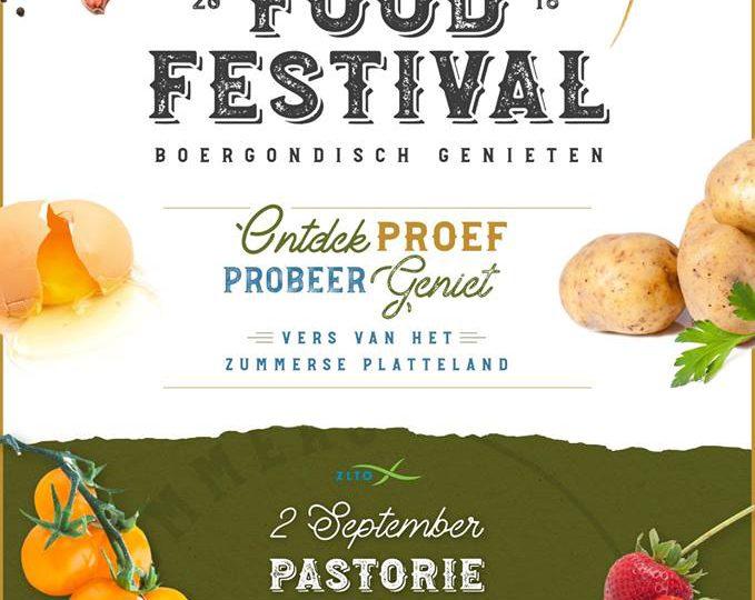 Zummers Food Festival in de Pastorietuin
