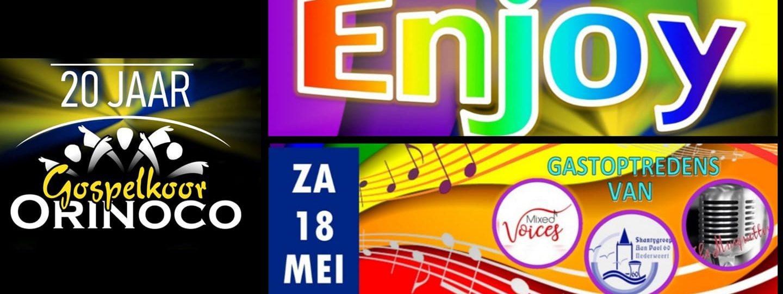 Enjoy – 20 jaar Gospelkoor Orinoco