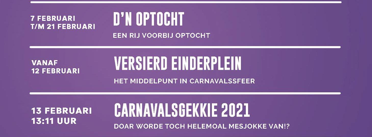 Carnaval op de Plattevonder